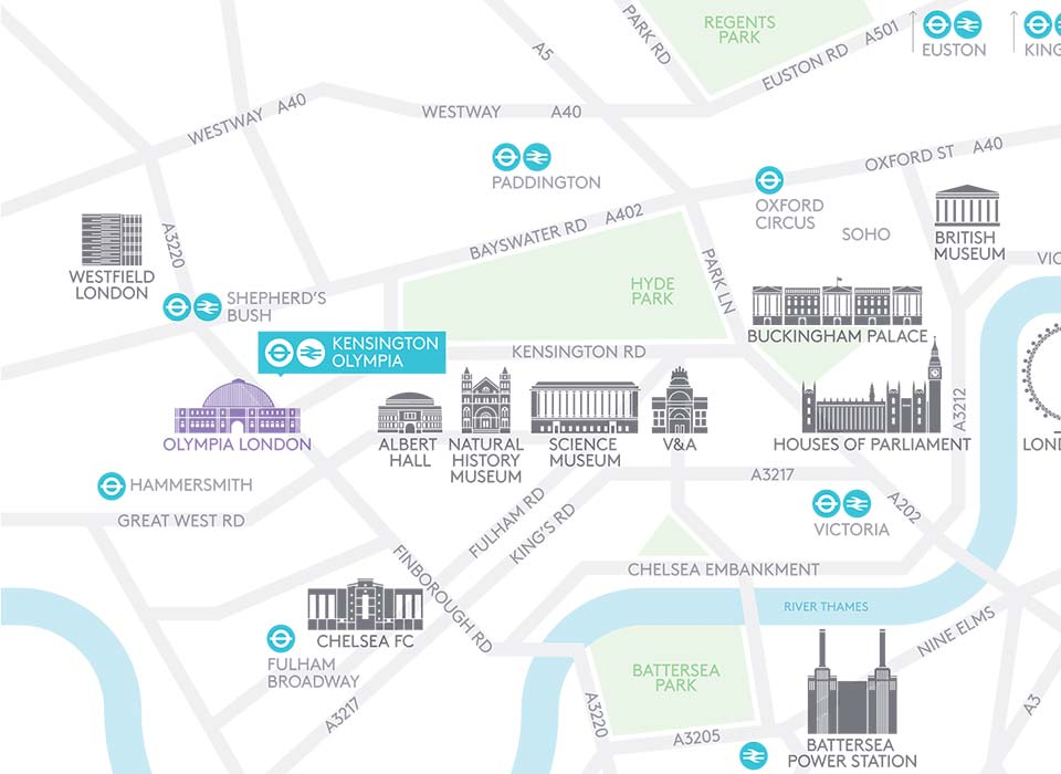 Discover the local area around Olympia London