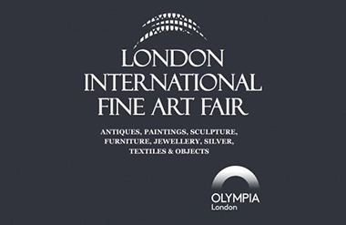 Correct position of Olympia London logo