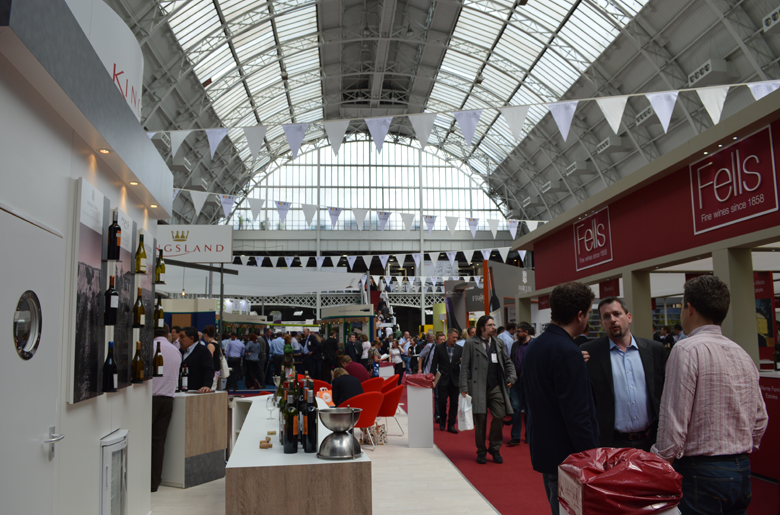 London Wine Fair is taking place at central London venue Olympia Grand