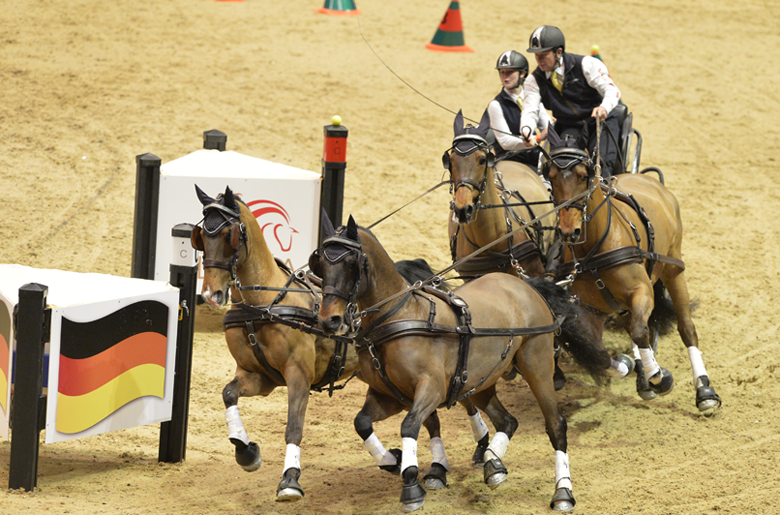 The London International Horse Show takes place at Olympia London this December
