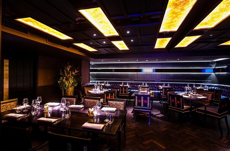 Perfect for after show dining Buddha Bar offers Olympia London visitors private dining experience