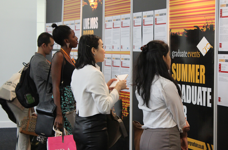 Summer Graduate Fair in returning to London, taking place at Olympia Central