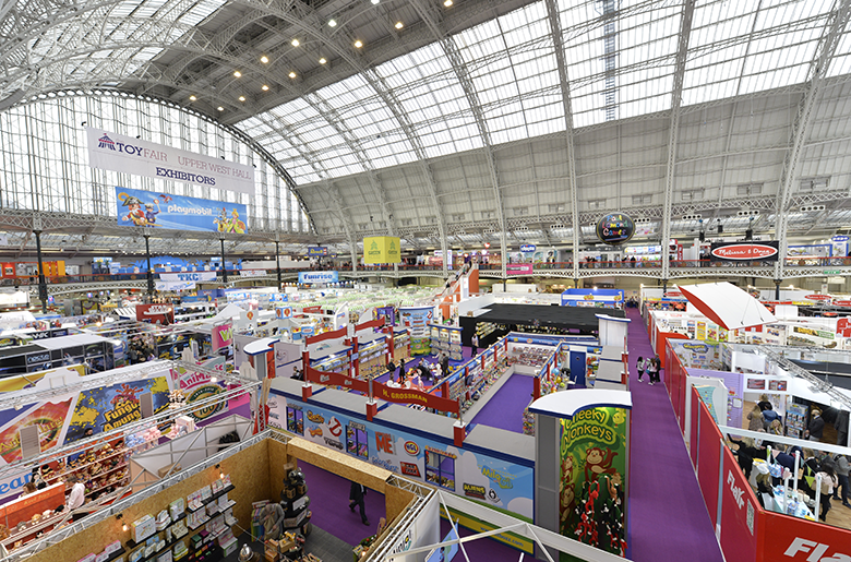 Olympia London is the venue for Toy Fair