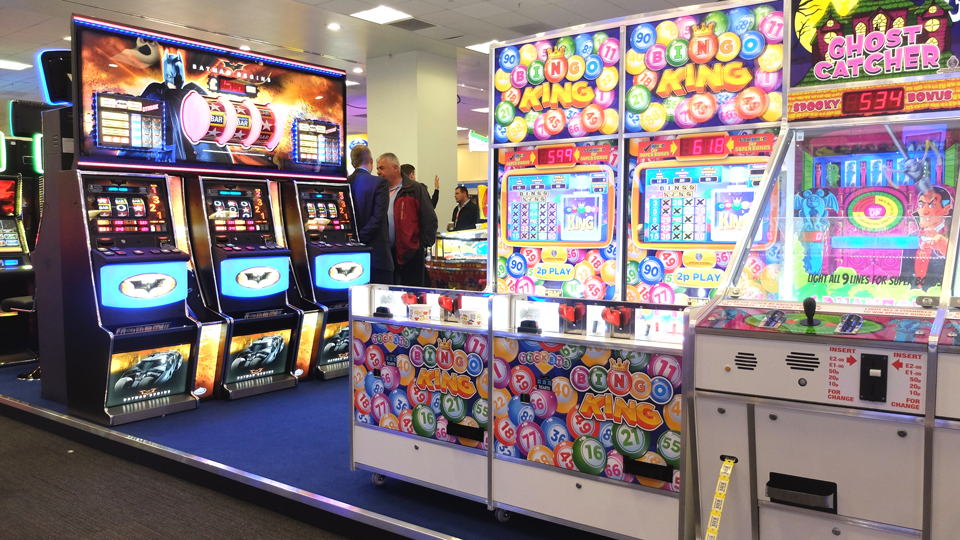 Autumn Coin-Op is coming to Olympia London