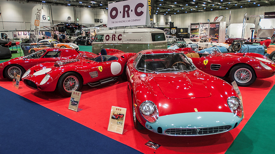 Olympia is the event venue where London Classic Car show will take place