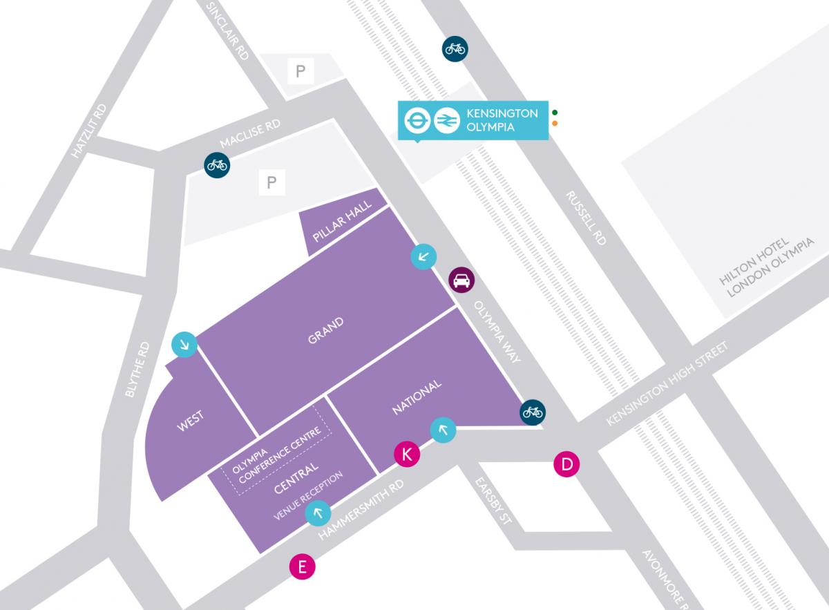 Book Parking Olympia London Parallel Park Diagram Onsite Map Offsite Locations Faqs The International Horse Show