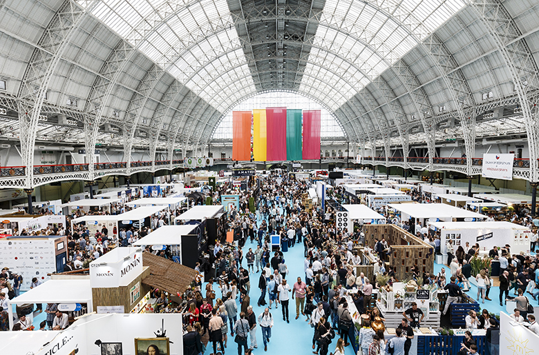 Imbibe takes place at Olympia London central London events venue