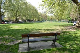 Brook Green is a great spot for lunch or just a sit down whilst at events at Olympia.