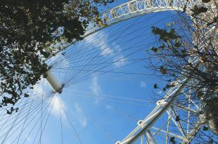 The London Eye is a great option for families and colleagues when you're visiting Olympia events.