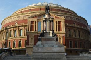 The Royal Albert Hall in Kensington, close to the venues at Olympia London.
