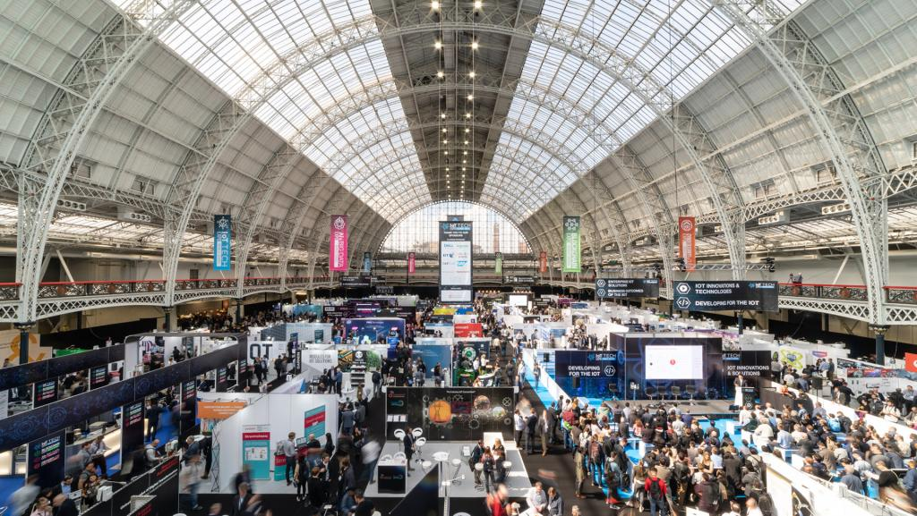 Olympia London is the venue for Blockchain Expo