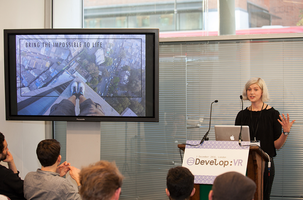 Olympia London is the venue for Develop:VR
