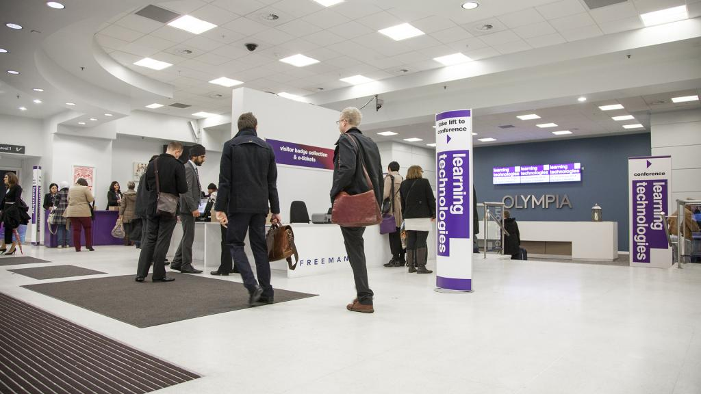 Olympia London is the venue for Learning Technologies