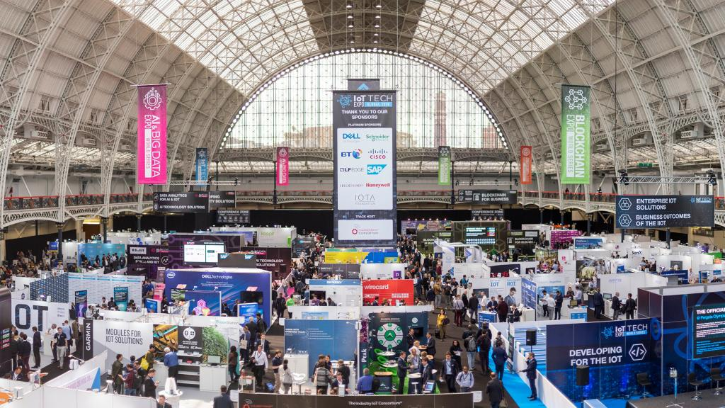 Olympia London is the venue for IoT Tech Expo