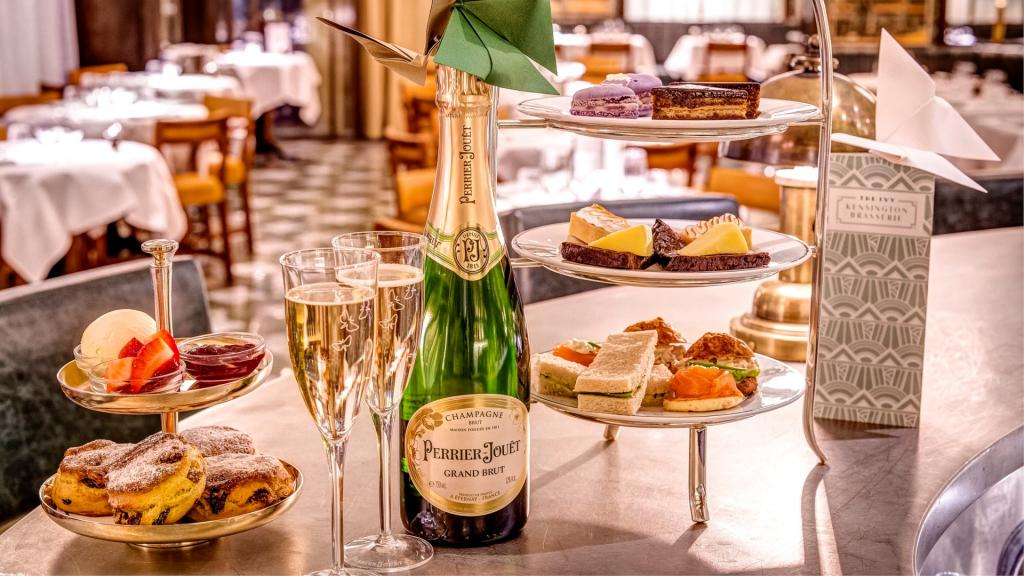 The Ivy Kensington Brasserie offers accessible, sophisticated all-day dining in Central London.