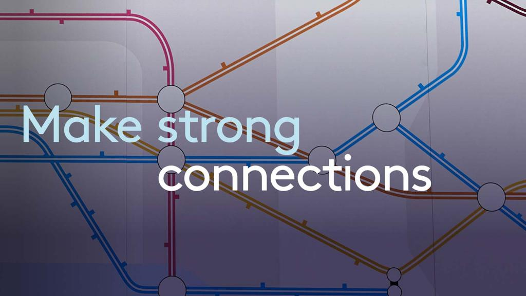 Make strong connections at Olympia London