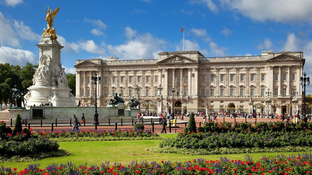Home to the Queen, Buckingham Palace is a short bus ride from Olympia London