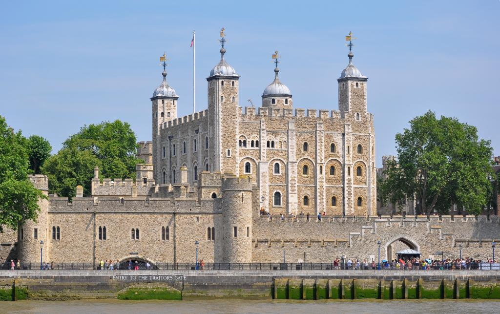 Tower of London is a historic castle in London not far from Olympia London
