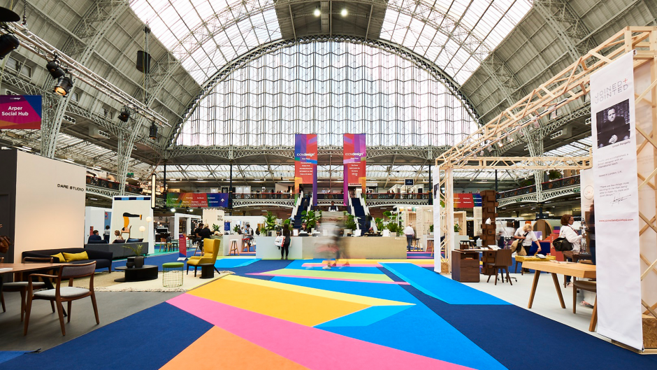 100 design event olympia london