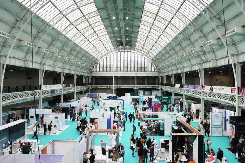 Great atmosphere at Aesthetic Medicine Live at Olympia London's National Hall.