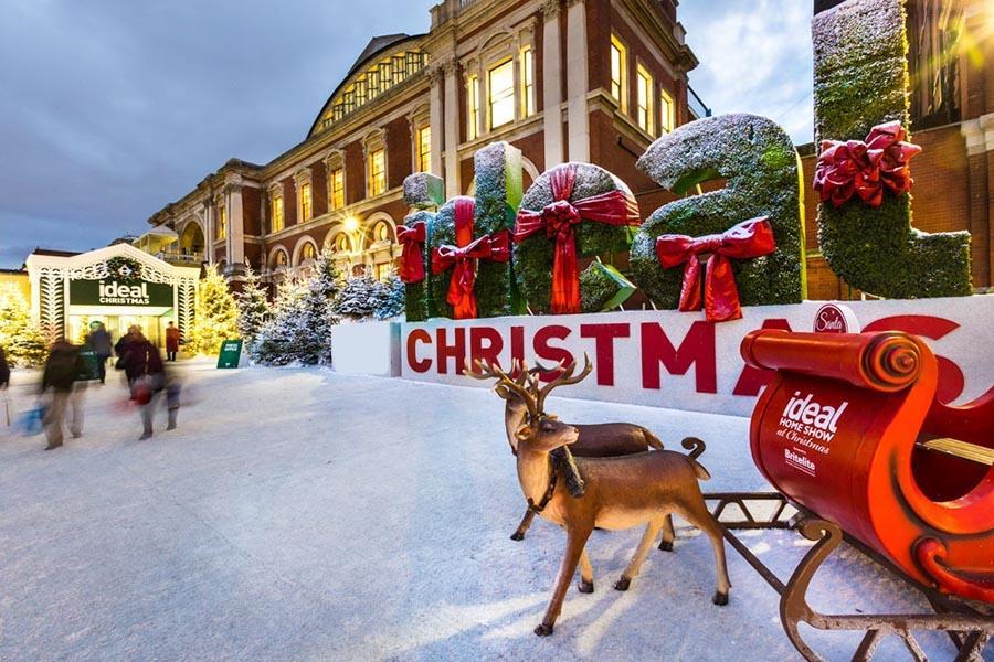 Ideal Home Show Chistmas - returns to Olympia London-2018