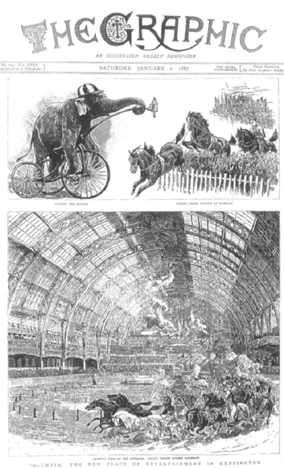 Olympia London Paris hippodrome