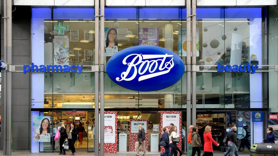 Boots Pharmacy is just on High Street Kensington near Olympia London