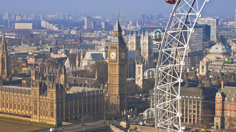 Home to Government, Houses of Parliament is a short journey from Olympia London