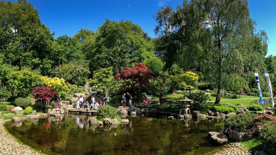 Holland Park is a green space near Olympia London