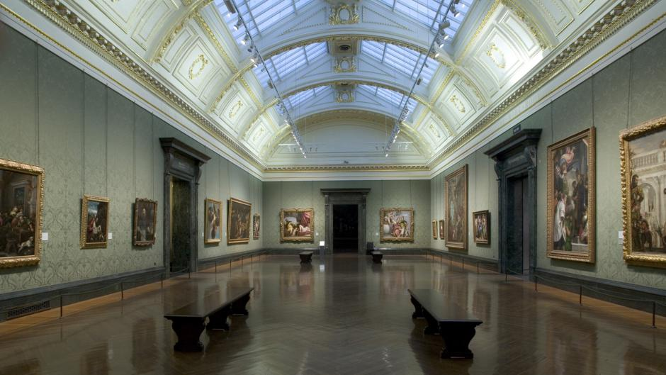 The National Gallery is one of the largest art museums in London near Olympia London