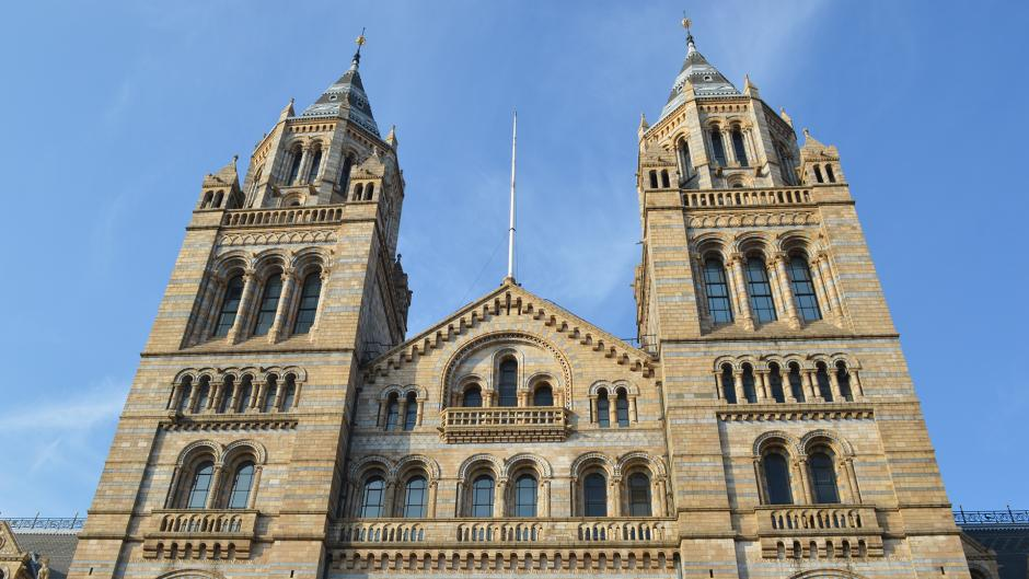 World famous Natural History Museum is on Olympia London's doorstep