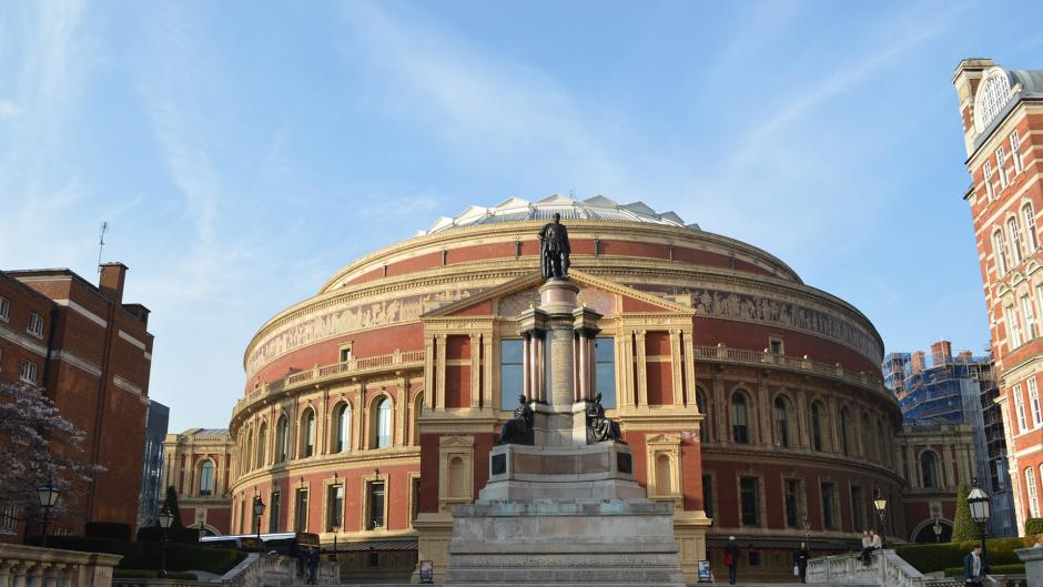 Filled with culture and arts the Royal Albert  Hall is just down the road from Olympia London