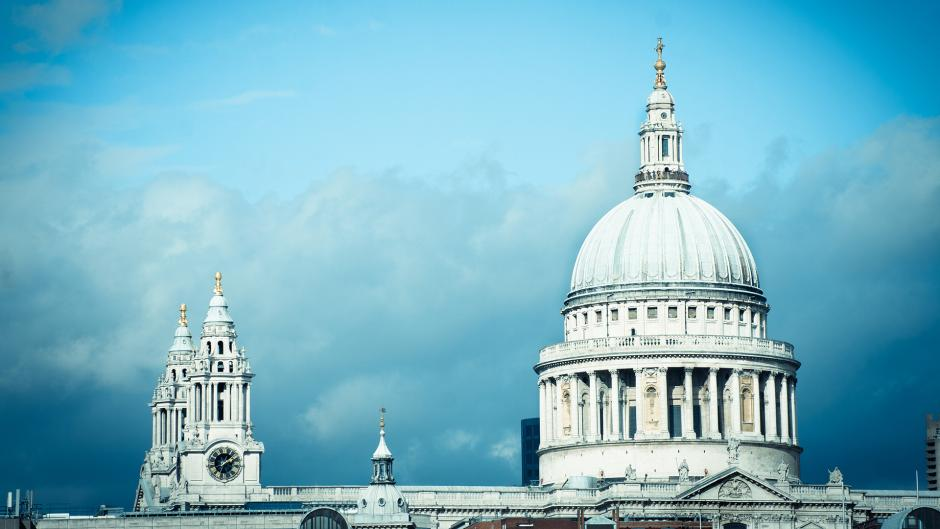 The grand St Paul's Cathedral is situated in the capital near Olympia London