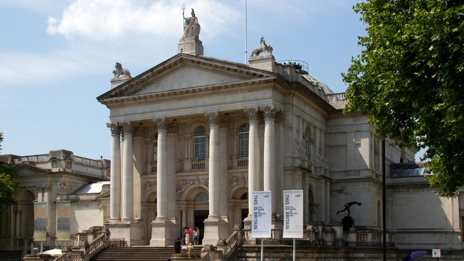 Tate Britain is an art museum on Millbank near to Olympia London