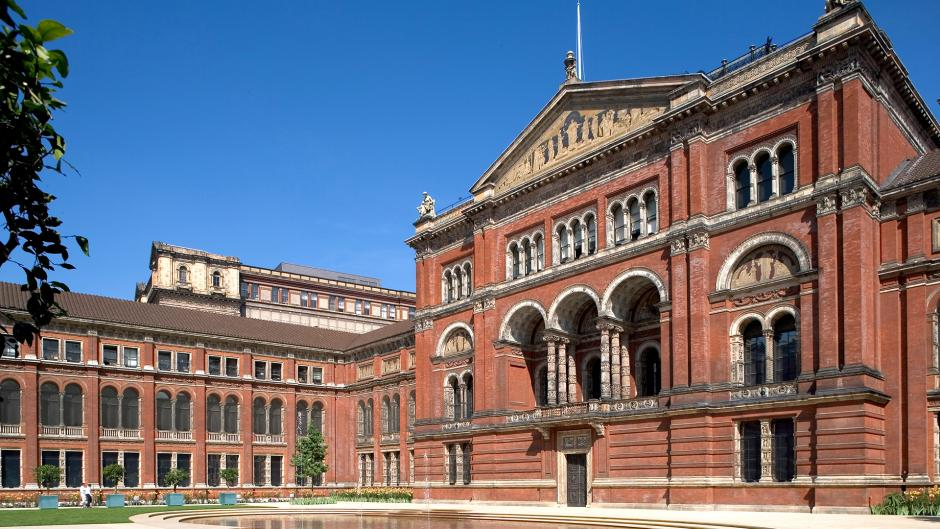 V&A museum holds an extensive collection of Victorian history near  Olympia London