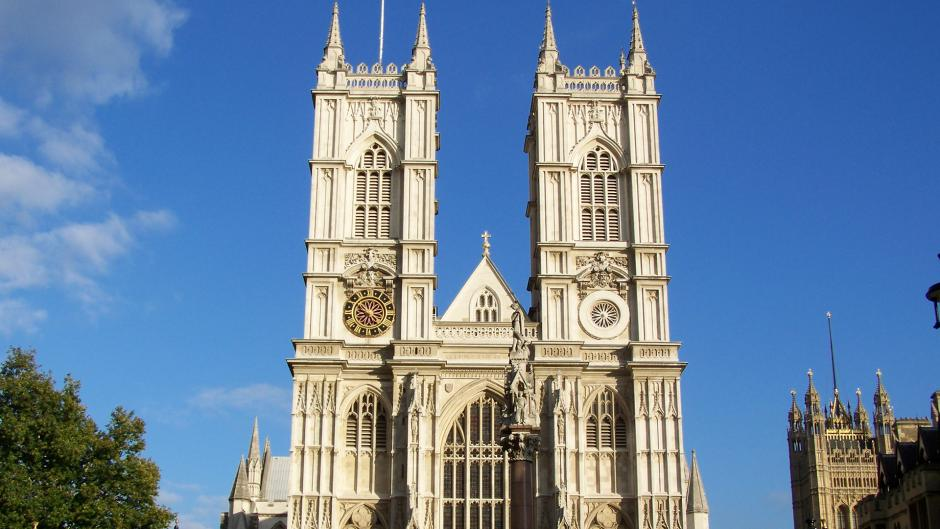 Popular tourist attraction Westminster Abbey is a short bus ride from Olympia London