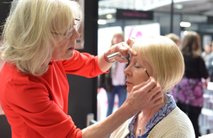 Olympia National is where The Anti-Ageing Health & Beauty Show is taking place