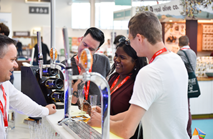 Bar & Pub Show is taking place at Olympia London
