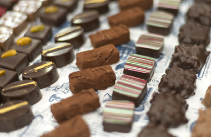 The Chocolate Show takes place at Olympia National event and exhibition venue in central London