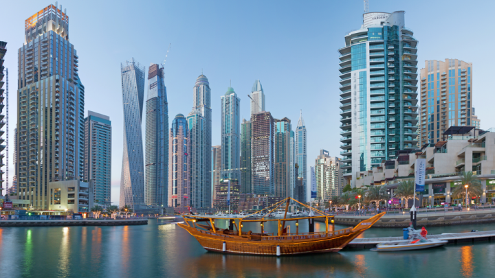 The Dubai Property Show is held at Olympia London