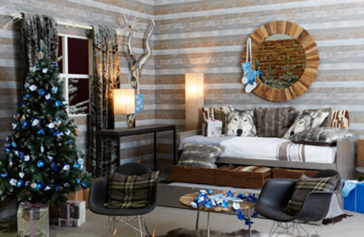Ideal Home Show Christmas takes place at Olympia Central in London