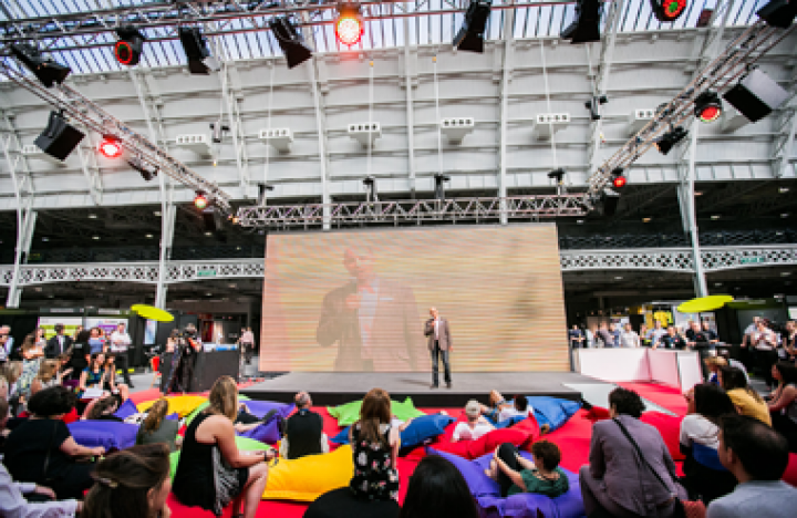 A case study for Business4Better which took place at Olympia National event and exhibition venue in central London