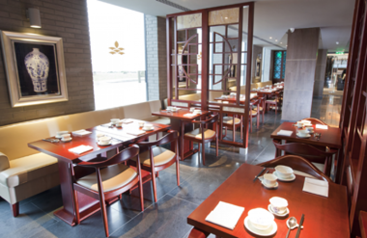 Shikumen offers a delicious Asian-inspired menu and is located at the Dorsett Hotel, nearby to Olympia London.