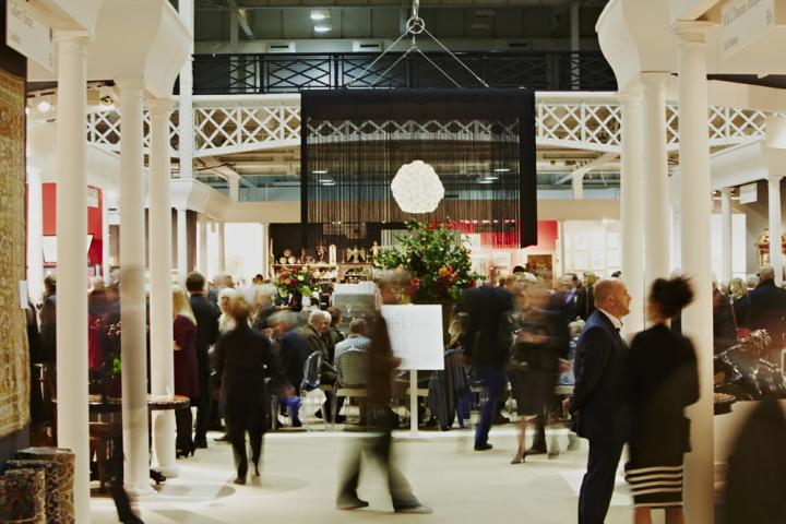 Winter Olympia Art & Antiques Fair takes place in Olympia National