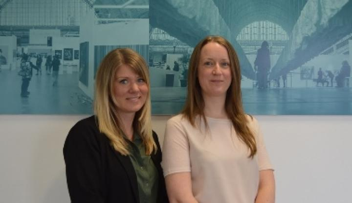 Caroline and Zoe are the new Conference Sales Executives at Olympia London