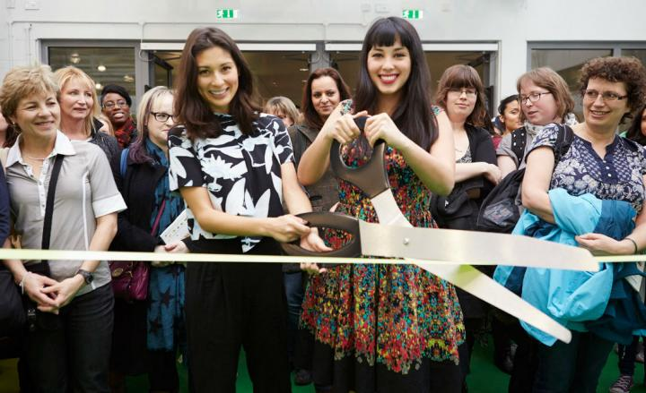 Cutting the ribbon at BBC Good Food Eat Well for its debut at Olympia West