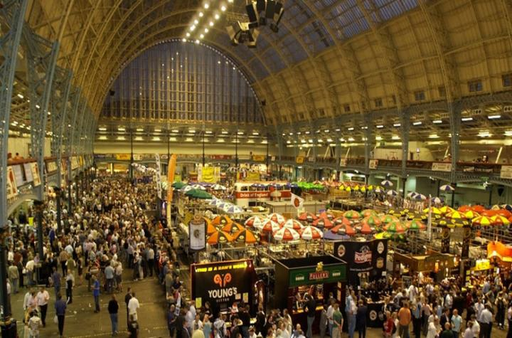 The nation's beers are dropping into London for the UK's biggest beer festival