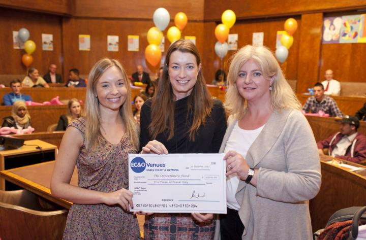 EC&O teams up with local children's initiative to celebrate 10 years of charitable work