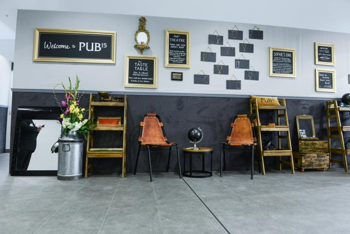 Making visitors feel welcome at PUB15, Olympia London
