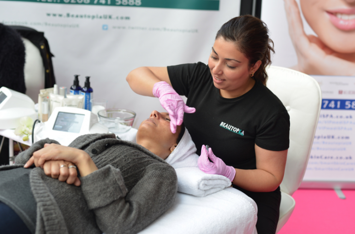 Olympia National event and exhibition venue in central London is where The Anti-Ageing Health & Beauty Show takes place